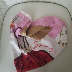 Givenchy Silk Scarf 34 x 34